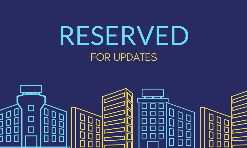 Reserved for Updates