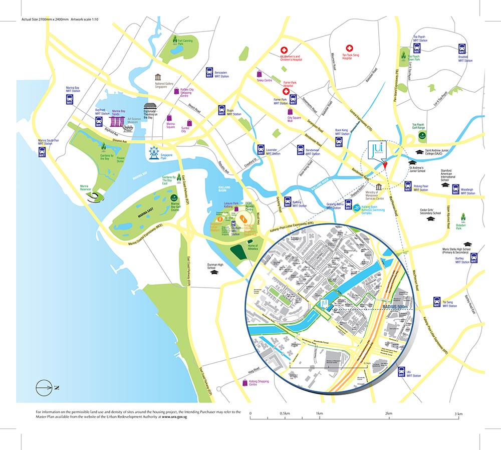 Jui Residences Condo Location Map