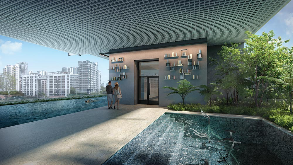 Jui Residences Aqua Gym