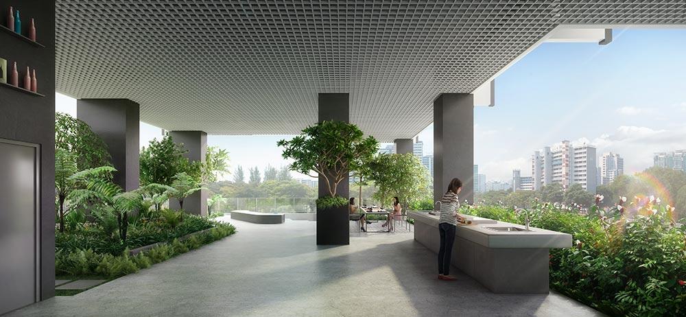 Jui Residences Deck View